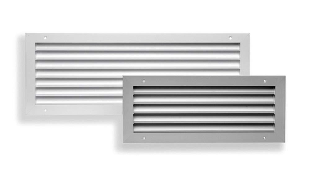 Griglia di aspirazione passo 25 mm modello GVAN 25 sezione 800x200