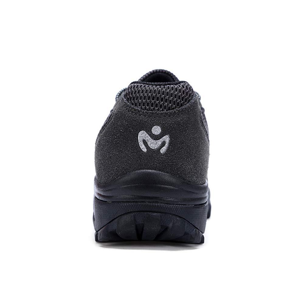 ZHRUI Mens Steel Toe Toe Toe Schuhe Mesh Punture Resitant Anti Piercing Outdoor Sicherheitsschuhe (Farbe   Schwarz Größe   EU 46) a08ef9
