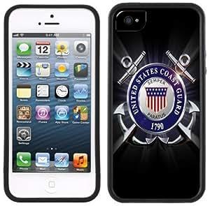 Coast Guard Handmade iPhone 5C Black Case by icecream design