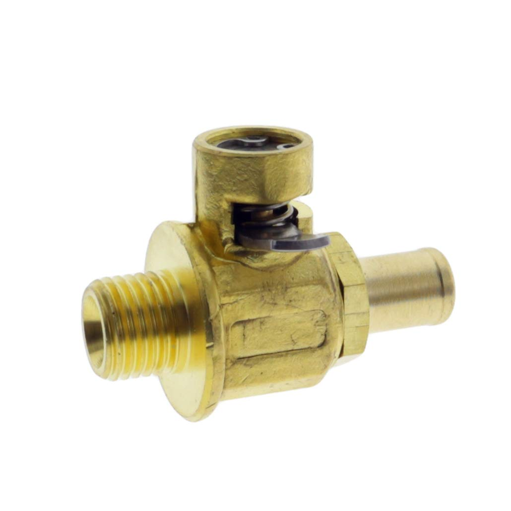 Cnfaner Quick FN-Series Oil Drain Valve M14-1.5 for F-106n Engine Valve with Long Nipple with Lever Clip