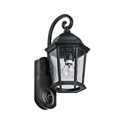 Amazon maximus video security camera outdoor light coach maximus video security camera outdoor light coach black compatible with alexa mozeypictures Gallery