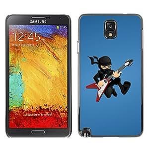 GagaDesign Phone Accessories: Hard Case Cover for Samsung Galaxy Note 3 - Ninja Rock star