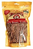 Smokehouse 100-Percent Natural Duck Breast Tenders Dog Treats, 16-Ounce, My Pet Supplies