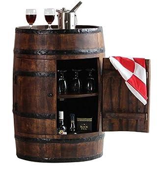 Ringabell Altavista Alcodrum Bar Cabinet With Door (Teak Finish)