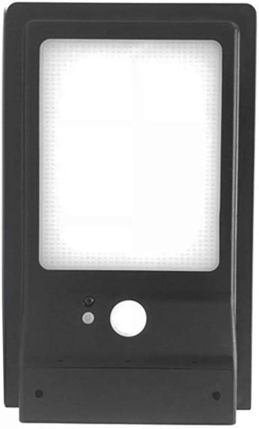 42 LED solaires Long/évit/é Haute Luminosit/é PIR Applique Solaire pour Jardin Garage Lampe Solaire Ext/érieur d/étecteur de mouvement Lumi/ère Solaire /Étanche IP65 250 * 196 * 120mm