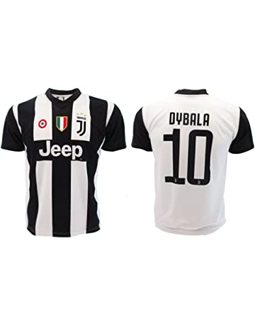 Camiseta de Fútbol Paulo Dybala 10 Juventus Home Temporada 2018-2019  Replica Oficial con Licencia 35be5b01ac0