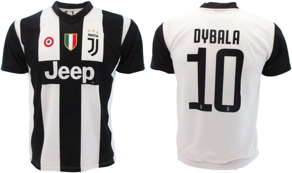 Camiseta de Fútbol Paulo Dybala 10 Juventus Home Temporada 2018 ...