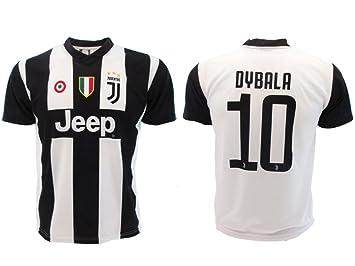 Camiseta de Fútbol Paulo Dybala 10 Juventus Home Temporada 2018-2019 Replica Oficial con Licencia - Todos Los Tamaños NIÑO y Adulto: Amazon.es: Deportes y ...
