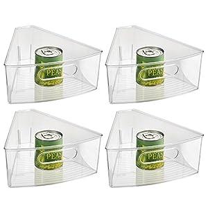 Amazon.com: InterDesign Kitchen Lazy Susan Pantry Cabinet Binz 1/8 ...