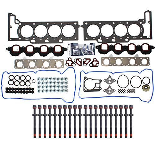 (NEW CHG0011HB Cylinder Head Gasket Set & Head Bolt Kit for 95-99 Cadillac 4.6L 281 Northstar engines)