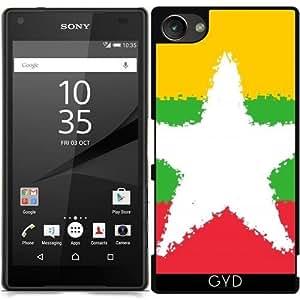 Funda para Sony Xperia Z5 Compact - Birmania 8 Bits by Cadellin