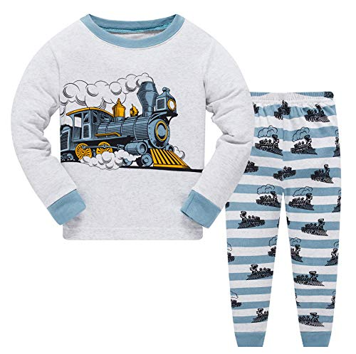 Long Sleeve Kid 2 Piece Pajama Sets Cotton Sleepwear for Toddlers PJS Clothes 2-3Years L 240 ()