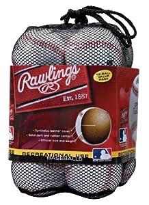 Rawlings Official League Recreational Use Baseballs (Pack of 12)