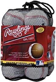 Rawlings OLB3 - Pelotas de béisbol de Grado recreativo, 3 o Bolsa de 12