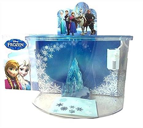 Kit Acuario Frozen 15L para Niños para Peces, Acuarios y Peceras: Amazon.es: Hogar