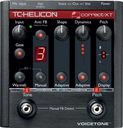 TC Helicon 996007011 VoiceTone Correct XT Vocal Effects Processor by TC Helicon
