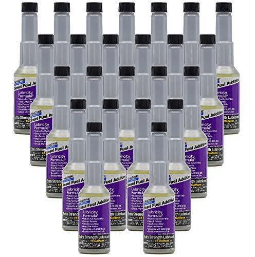 Stanadyne Lubricity Formula One Shot 8 oz., Case of 24 Bottles. Treats 15 gallons diesel fuel per Bottle. 38559