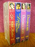 Divorce His, Divorce Hers, The Last Time I Saw Paris, Life With Father. Box Set 4 Movies VHS