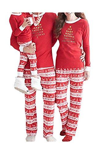 Cinder-Ella Christmas Two Piece Fashion Family Pajama Set Sleepwear Mom XL