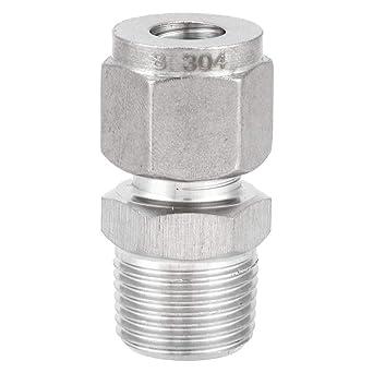 Junta recta de casquillo, 1 pieza ZG 3/8 Racor de compresión ...