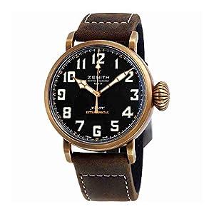 Zenith Pilot Montre D'aeronef Type 20 Black Dial Automatic Mens Watch 29.2430.679/21.C753 by Zenith