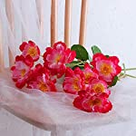Liliy-luckly-2-Heads-Artificial-Flower-for-Wedding-Decoration-Silk-Flower-RosemaryChampagne