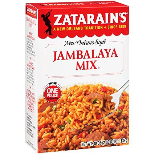 Zatarain's Jambalaya Mix, 40 Ounce
