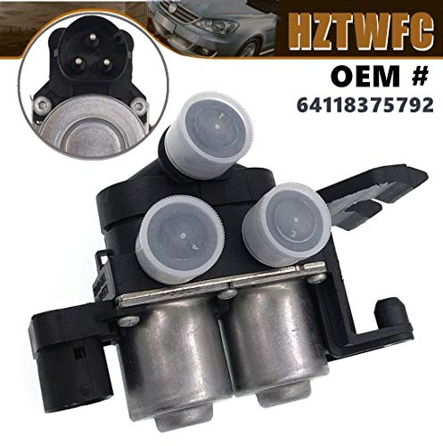 HZTWFC A/C HVAC Heater Control Solenoid Valve 64118375792 Compatible for BMW E36 3 Series 325is 325i 318is 318i 328is 328i M3 Bmw 3 Series Heater