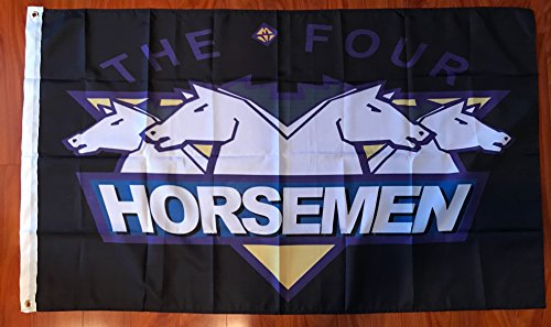 The Four Horsemen Wrestling 3'x5' Feet flag banner - WCW, WWF, WWE, Ric Flair -