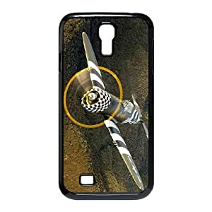 Aircraft Classic Fighter DIY Cover Case with Hard Shell Protection for SamSung Galaxy S4 I9500 Case lxa#399637