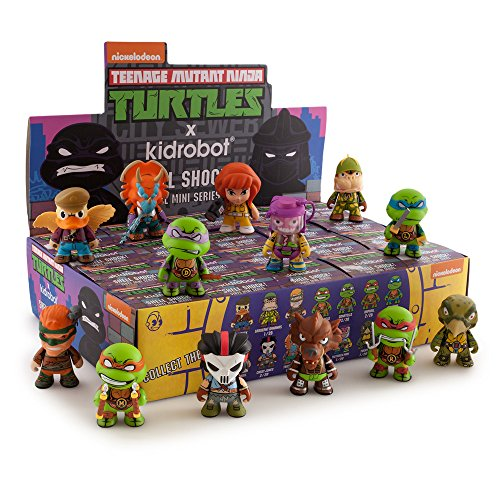 TMNT Teenage Mutant Ninja Turtles Series 2 Shell Shock Brand New Display Case 20 pcs (Ninja Turtles Blind Box Set)