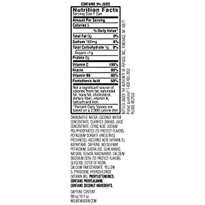 Mountain Dew Kickstart Ultra, 16 oz Cans (Pack of 12)