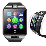 ❤️Jonerytime❤️2019 Q18 Bluetooth Smart Watch GSM Camera TF Card Phone Wrist Watch