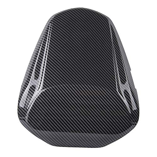 Red FATExpress Motorcycle Aftermarket Plastic Rear Passenger Pillion Solo Seat Cowl Hard ABS Motor Fairing Tail Cover for 2016-2018 Suzuki GSX-S GSXS 1000 GSXS1000 2017 16-18