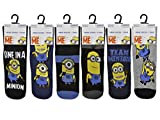 Mens/boys Official Licensed Despicable Me 3 Pairs