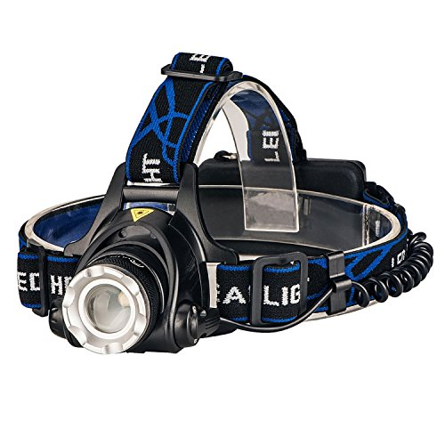 CVLIFE Headlight Flashlight Rechargeable Batteries