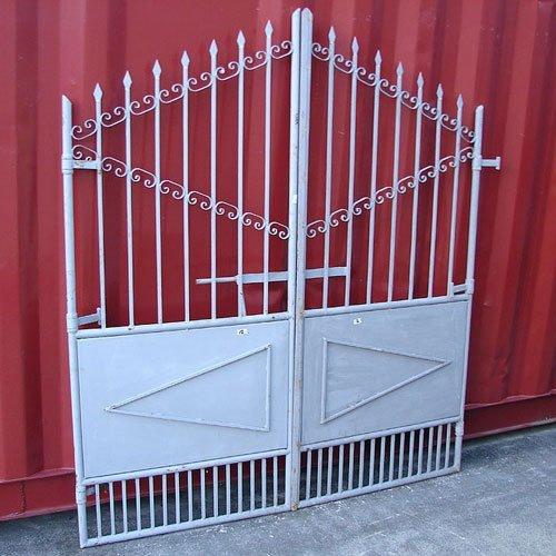 門扉 (両開き) ゲート ロートアイアン スペイン製 幅160cm INK-Amonpi27 B01GTS0GK0