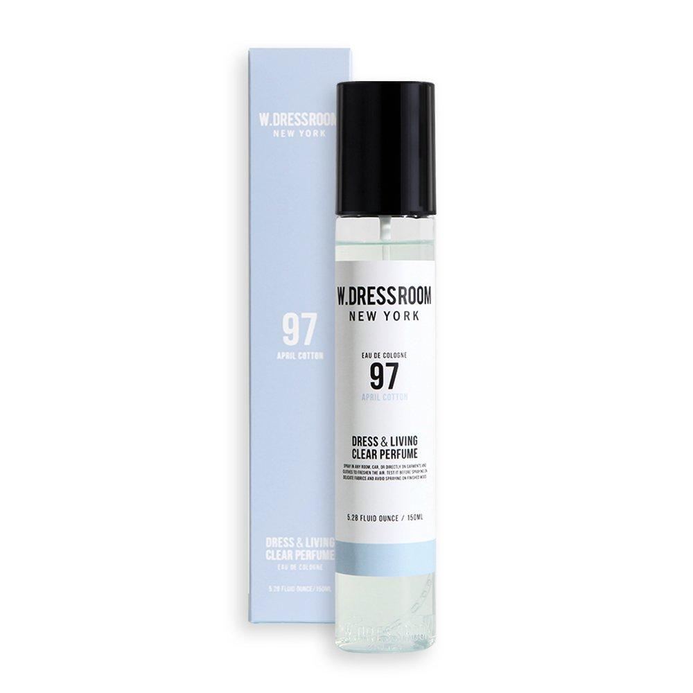 W.Dressroom Perfumes Air Fresheners Home Fragrances Sprays 150ml [97 April Cotton]