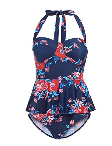 Floral Chic Bikini Set in Australia - 4