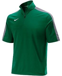Amazon.com : Nike Men's Short Sleeve Hot Jacket Baseball Navy ...
