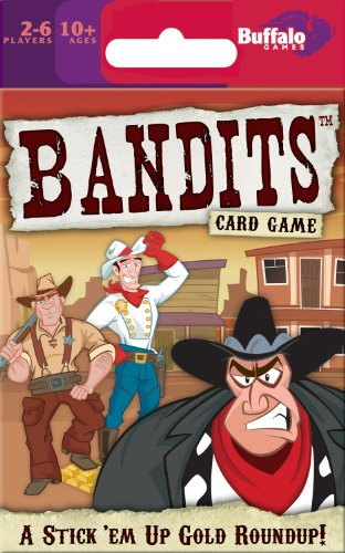 Buffalo Games Bandits Card Game