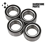 #3: Polaris RZR 1000 / XP / 4 / Turbo Front & Rear Wheel Bearings Kit (4) 2014 2015 2016