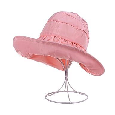 Gorra de protección UV, Visera, Gorra de Verano Femenina, Plegable ...