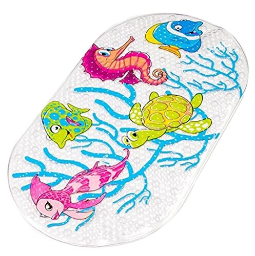 "15"" X 28"" Non-slip Bathtub Safety PVC Mat with Suction Pa..."