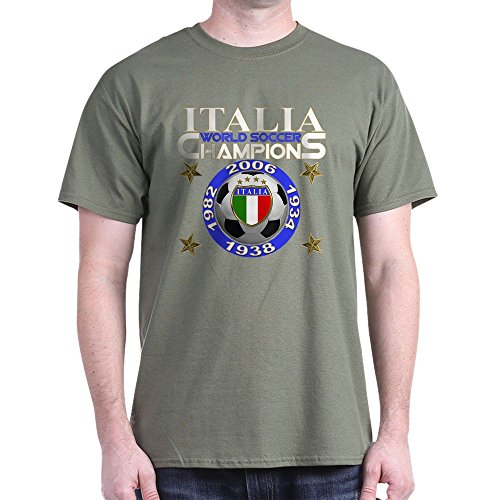 World Cup Champs - CafePress Italia World Soccer Champs - 100% Cotton T-Shirt