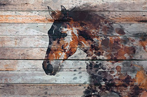Marmont Hill Fire Horse by Irena Orlov Painting Print on Wrapped Canvas 36x24 Multicolor from Marmont Hill