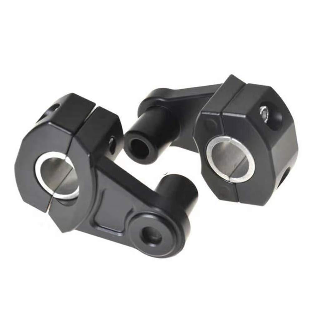 7//8 inch and 1.13 inch motorcycle handlebar mount universal handlebar riser handlebar holder 22 mm and 28 mm CNC aluminium.