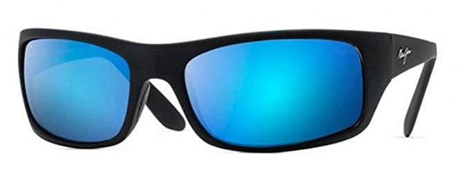 Maui Jim - Peahi - Matte Black Frame - Blue Hawaii Polarized Lenses