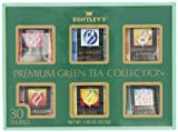 Bentley's Assorted Green Tea Sampler Pack, 30 Count Box
