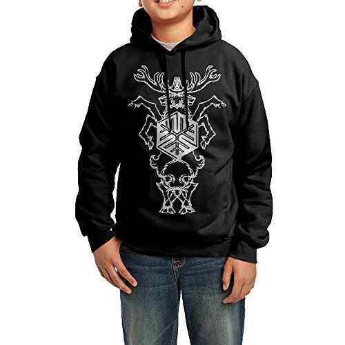Lulu Agalloch Mens Custom Long Sleeve Hoodies L Black